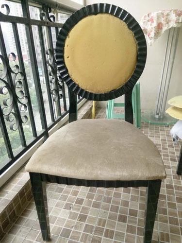 大渡口区椅子换皮换布效果图