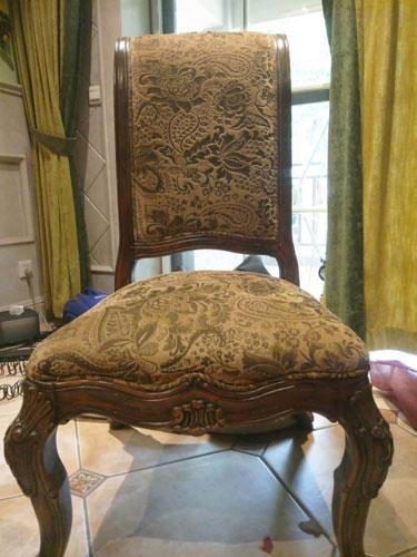 南坪椅子椅子换皮换布效果图