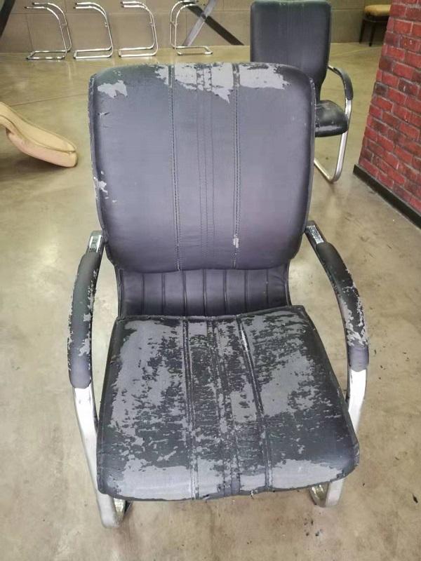 椅子换皮对比图
