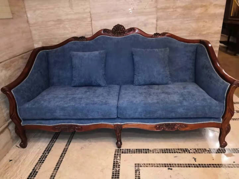 布艺沙发翻新前后对比