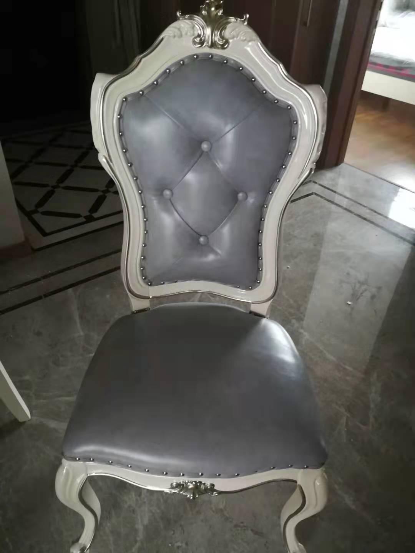欧式椅子翻新换皮效果