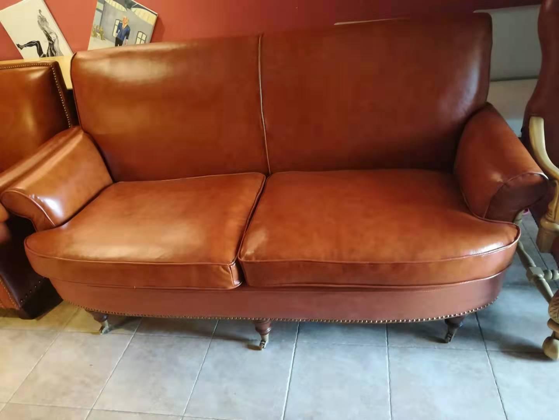家用真皮沙发翻新换皮效